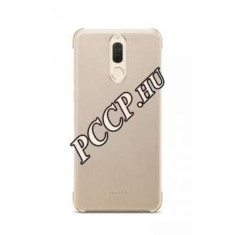 Huawei Mate 10 Lite arany műanyag bőrbevonatos hátlap