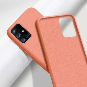 Huawei Mate 20 Lite narancs szilikon hátlap