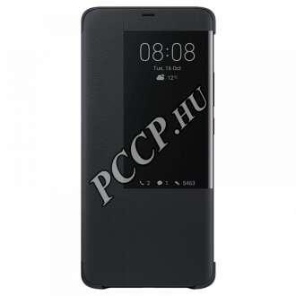 Huawei Mate 20 Pro fekete S-View flip tok