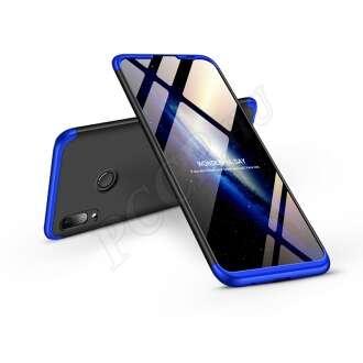 Huawei P Smart (2019) fekete/kék három részből álló védőtok