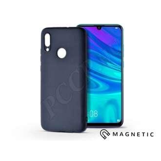 Huawei P Smart (2019) kék szilikon hátlap beépített fémlappal