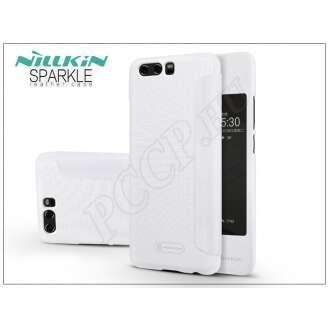 Huawei P10 fehér oldalra nyíló flip tok
