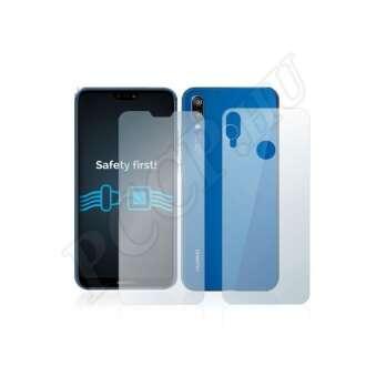 Huawei P20 Lite (elő- és hátlap) kijelzővédő fólia