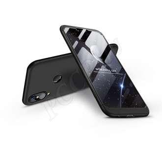 Huawei P20 Lite fekete három részből álló védőtok