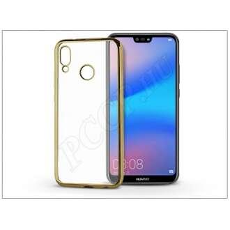 Huawei P20 Lite arany szilikon hátlap