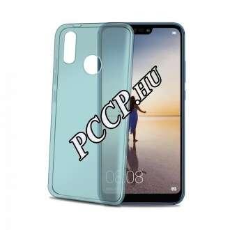 Huawei P20 Lite kék vékony szilikon hátlap
