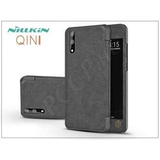 Huawei P20 fekete oldalra nyíló flipes tok