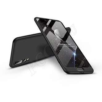 Huawei P20 Pro fekete három részből álló védőtok