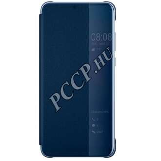 Huawei P20 Pro kék flip cover tok