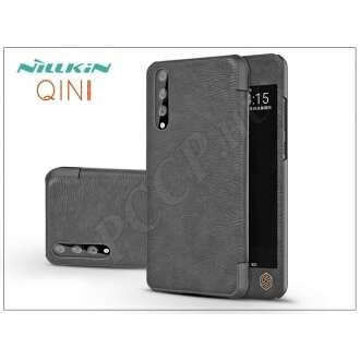 Huawei P20 Pro fekete oldalra nyíló flipes tok
