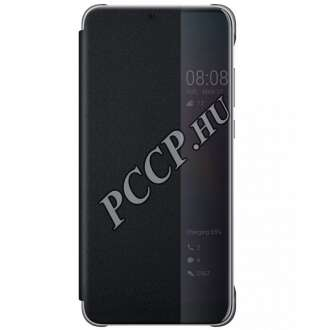 Huawei P20 Pro fekete flip cover tok