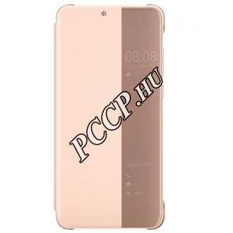 Huawei P20 pink flip cover tok