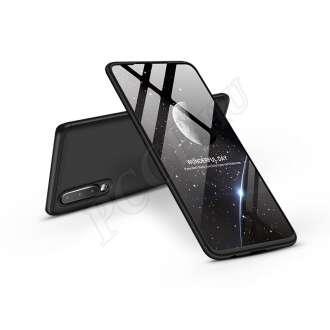 Huawei P30 fekete három részből álló védőtok