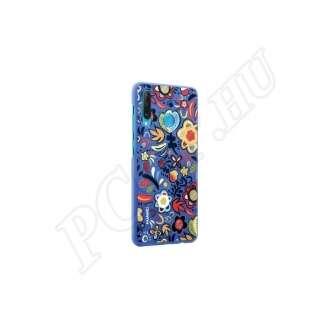 Huawei P30 Lite kék mintás gyári hátlap