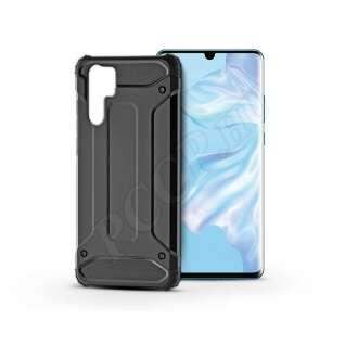 Huawei P30 Pro fekete ütésálló hátlap
