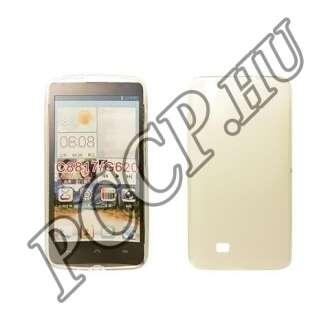 Huawei P8 átlátszó vékony szilikon hátlap