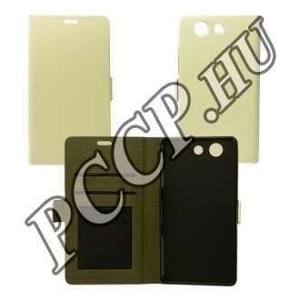 Huawei P8 fehér flip tok