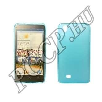 Huawei P8 kék vékony szilikon hátlap