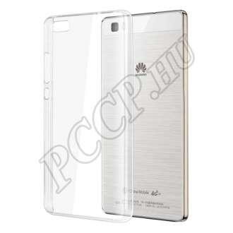 Huawei P8 Lite átlátszó szilikon hátlap