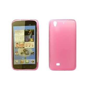 Huawei P8 Lite pink vékony szilikon hátlap