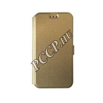 Huawei P9 arany flip oldalra nyíló tok