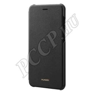 Huawei P9 Lite (2017) fekete gyári flip tok