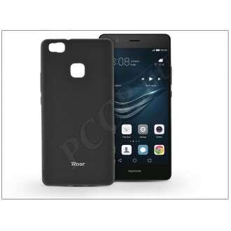 Huawei P9 Lite fekete szilikon hátlap