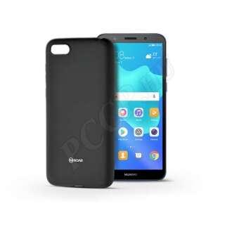 Huawei Y5 (2018) fekete szilikon hátlap