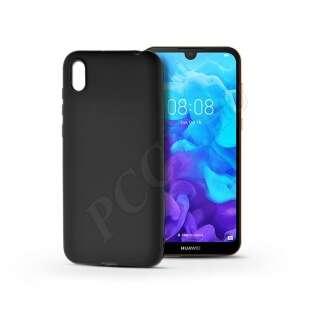 Huawei Y5 (2019) fekete szilikon hátlap