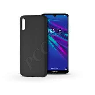 Huawei Y6 (2019) fekete szilikon hátlap