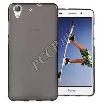 Huawei Y6 II fekete vékony szilikon hátlap