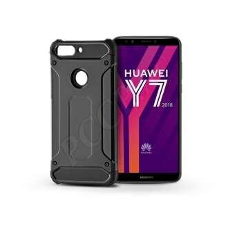Huawei Y7 (2018) fekete ütésálló hátlap