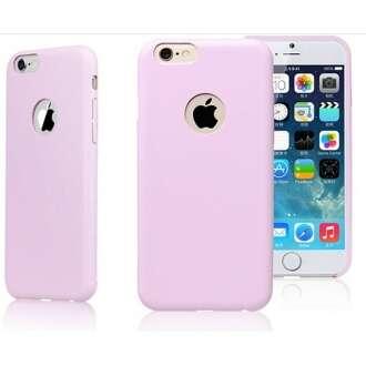 Apple Iphone 5 pink bőr hatású műanyag hátlap