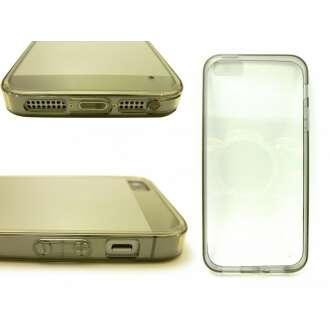 Apple iPhone 5 szürke vékony hátlap