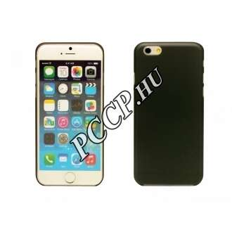 Iphone 6 fekete ultra vékony műanyag hátlap