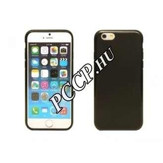 Iphone 6 fekete vékony szilikon hátlap