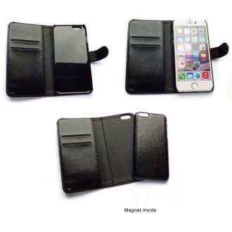 Apple Iphone 6 fekete flip oldalra nyíló tok