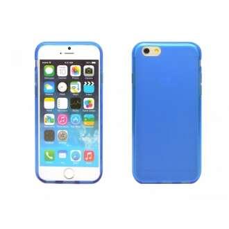 Iphone 6 kék vékony szilikon hátlap