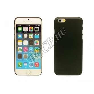 Iphone 6 Plus fekete ultravékony műanyag hátlap