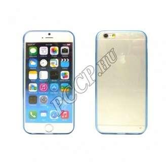 Apple Iphone 6 Plus kék ultravékony szilikon hátlap
