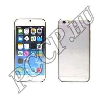 Apple Iphone 6 Plus szürke ultravékony szilikon hátlap