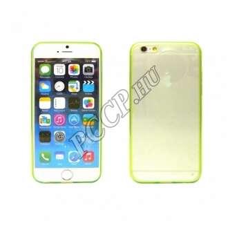 Apple Iphone 6 Plus zöld ultravékony szilikon hátlap