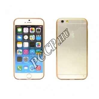 Apple Iphone 6 arany ultravékony szilikon hátlap
