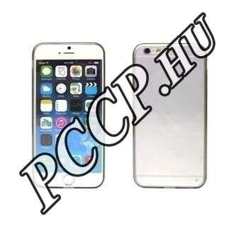 Apple Iphone 6 szürke ultravékony szilikon hátlap