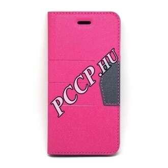Apple Iphone 7 Plus pink oldalra nyíló tok