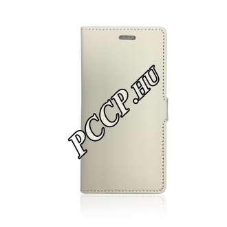 Apple Iphone X fehér oldalra nyíló flip tok