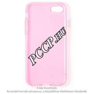 Apple Iphone X pink vékony szilikon hátlap