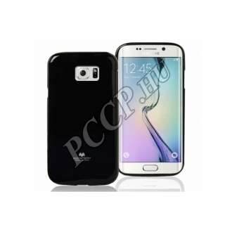 Samsung Galaxy J1 fekete rugalmas szilikon hátlap