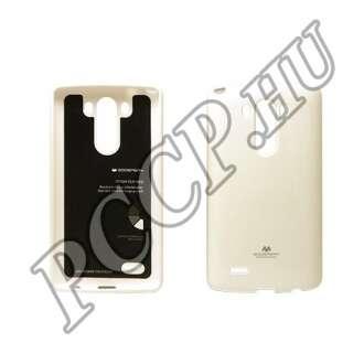 LG G4 fehér rugalmas szilikon hátlap