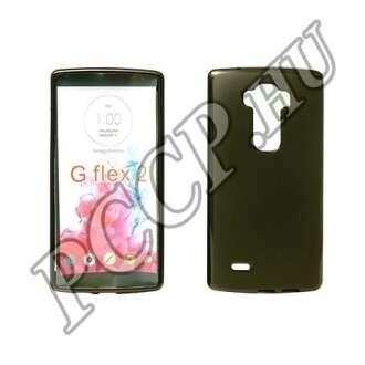 LG C50 Leon fekete vékony szilikon hátlap